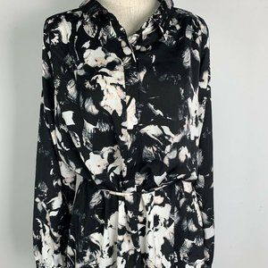 NWT Apt 9 Floral Blouse Womens Blouse